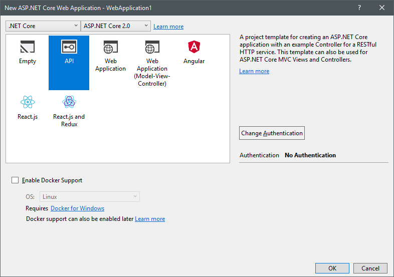 Get client ip address in linux c asp net core 2